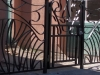Security Artistic Metal Gates
