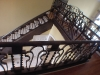 Bronze and Copper Finish on Custom Built Stairs, Columbia S.C.