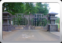 Custom Metal Entrance Gates