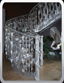 Custom Metal Staircases